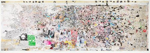 """Phillips could break Mark Bradford's auction record again with the massive """"Helter Skelter II."""""""