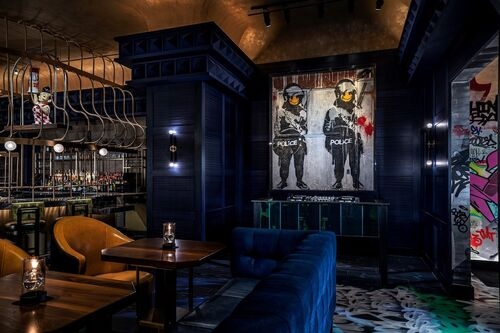 Las Vegas's first permanent Banksy will be housed in a casino restaurant.