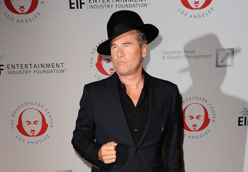 Val Kilmer denied claims he copied another artist's work when making a bronze tumbleweed.