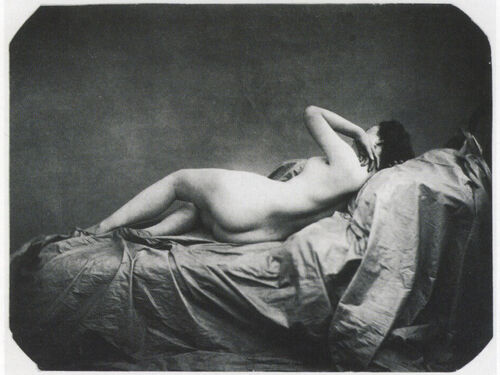 The Invention of Photography Emboldened Artists to Portray Overt Sexuality