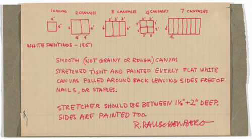 Understanding 11 Great Artists through the Instructions They Left Behind