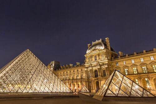 The Louvre will train refugees as museum tour guides.