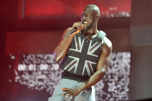 Banksy revealed he made the vest that the rapper Stormzy wore at Glastonbury.
