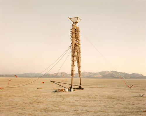 Richard Misrach's Rarely Seen Photos Capture Burning Man's Early, Experimental Years