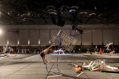 Art Basel will launch a sector for monumental works at its Miami Beach fair.