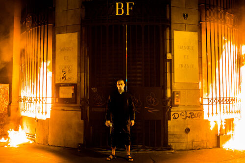 The dissident artist Pyotr Pavlensky was arrested after leaking a French politician's sex tape.