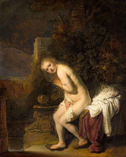 """I'm Obsessed with This Tiny Detail in Rembrandt's """"Susanna"""""""