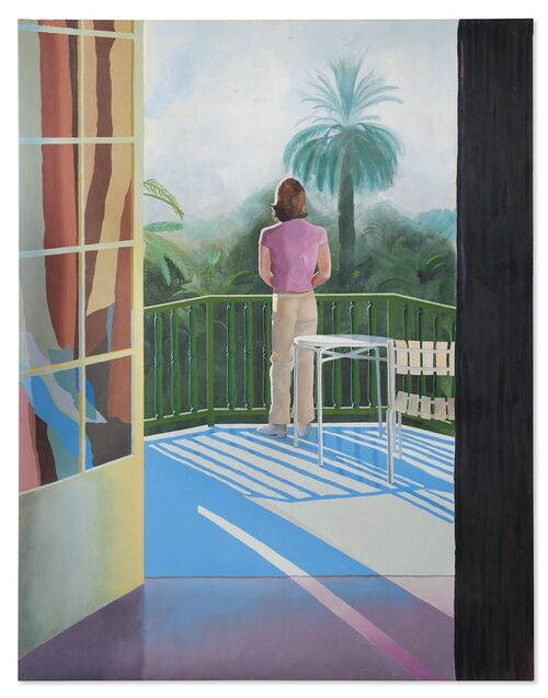A David Hockney painting, unseen by the public for 46 years, will star in Christie's fall New York sales.