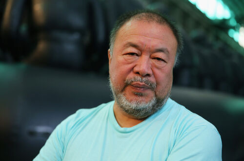 Ai Weiwei is documenting the Hong Kong protests.