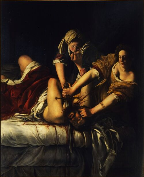 """I'm Obsessed with Cristofano Allori's """"Judith with the Head of Holofernes"""""""