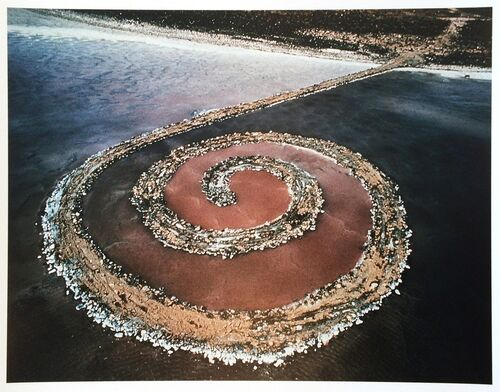 Gianfranco Gorgoni, a photographer who made indelible images of land art, has died at 77.