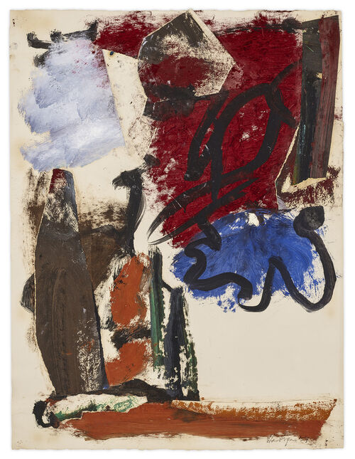 Market Brief: Demand for Grace Hartigan's Pioneering Ab-Ex Oeuvre Extends to Works on Paper