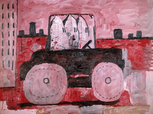 A Philip Guston retrospective was delayed until 2024 due to concerns about its content.
