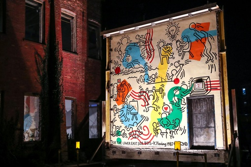 How This Enormous Keith Haring Mural Was Saved from Destruction