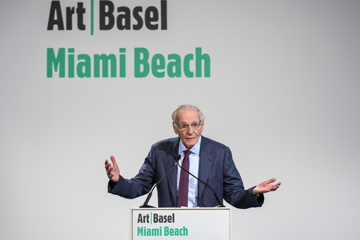 The Man Who Brought Art Basel to Miami Beach