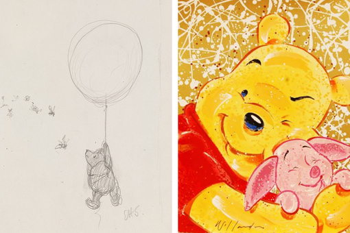 Winnie-the-Pooh's 90-Year Journey from Pencil Sketch to Disney Icon