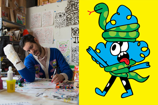 How Jon Burgerman Turned Doodling into a Creative Career