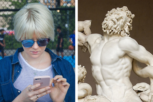 Swiping Right Has Its Roots in Art History
