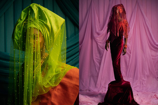 The Photographer Taking Regal Portraits of Nigerian Brides