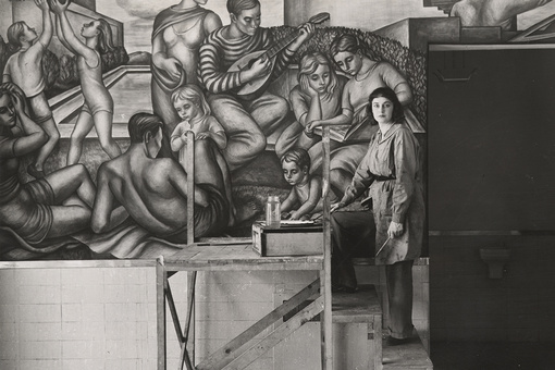 "The Brooklyn-Born Sisters Diego Rivera Dubbed ""The Greatest Living Women Mural Painters"""