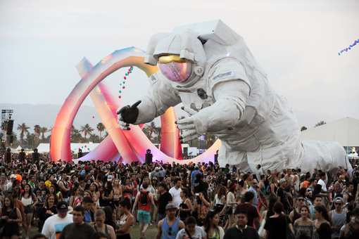 How the Massive Artworks at Music Festivals Are Created