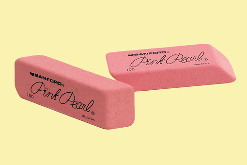 Why Erasers Are Pink