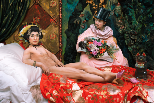 Why Yasumasa Morimura Places Himself in Art History's Most Famous Scenes