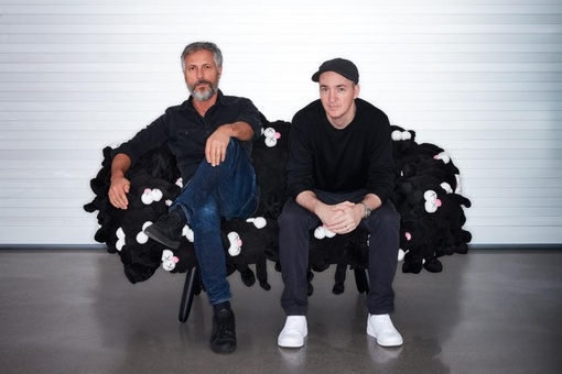 KAWS and the Campana Brothers Join Forces at Design Miami/