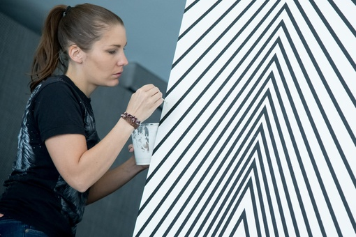 These Women Artists are Transforming Gallery Walls with Incredible Murals