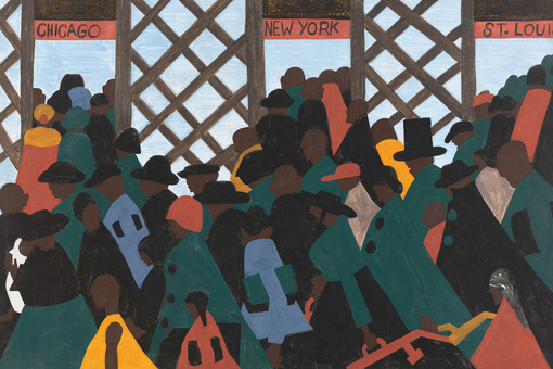 "A Closer Look at Jacob Lawrence's ""Migration Series,"" the Masterpiece He Made at 23"