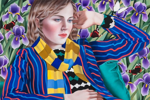 Jocelyn Hobbie's Hypnotic Portraits of Women Dazzle the Eye with Color and Pattern