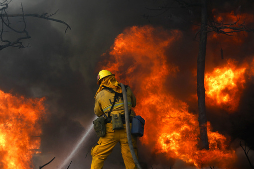 "Wildfire Rages Near the Getty, but Museum Says ""Safest Place"" for Art Is Inside"