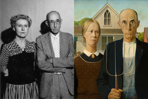 Grant Wood's Menacing, Mesmerizing Portrait of Rural America
