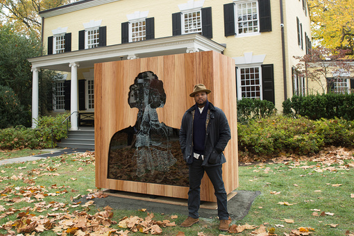 At Princeton, Titus Kaphar Reckons with the University's History of Slavery