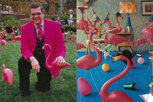 How One Man's Pink Plastic Flamingo Landed on Lawns across the World
