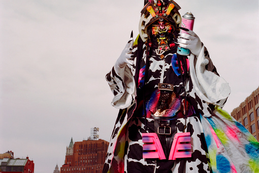 How 1980s Cult Artist Rammellzee Mesmerized Everyone from Basquiat to the Beastie Boys