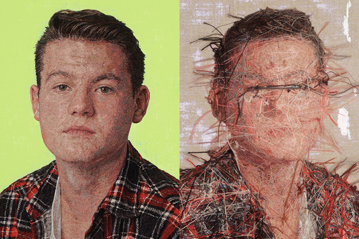 These Hyperrealistic Portraits Are Actually Made from Yarn