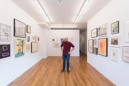 This Unconventional Brooklyn Art Gallery Doubles as a Real Estate Agency