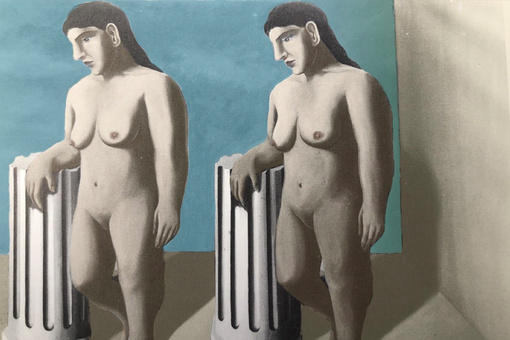 Final Piece of Lost Magritte Painting Discovered after 85 Years