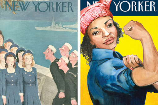 Decades of New Yorker Covers Trace the Changing Image of Women in America