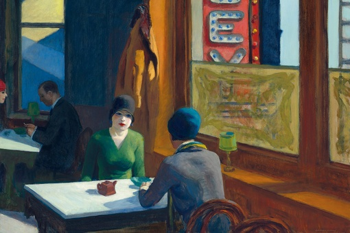 "Edward Hopper's ""Chop Suey"" Sells for $91.9 Million at Christie's Sale of Ebsworth Estate"