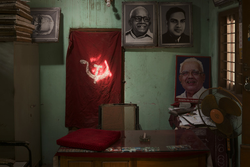 Photos Capture Remnants of the Communist Party around the World