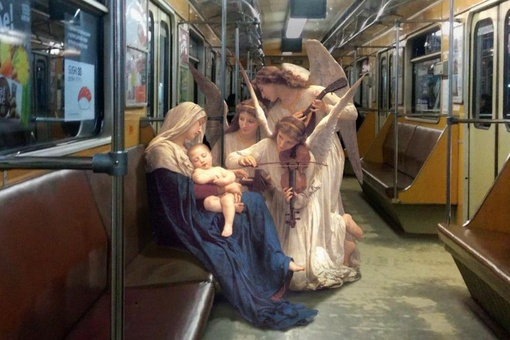 The Artist Transporting Figures from Art History into Modern Life