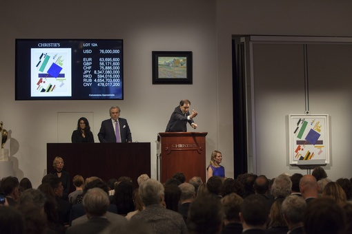 $416 Million Christie's Impressionist and Modern Sale Sets Records for Malevich, Brancusi