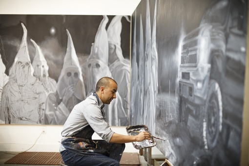 Texas Museum Mounts 30-foot Portrait of Today's KKK. Can It Avoid Controversy?