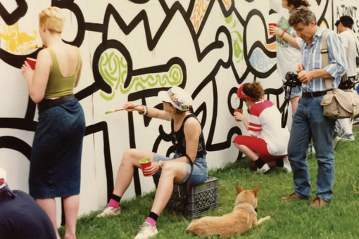 How 500 High Schoolers Helped Keith Haring Pull off One of His Most Ambitious Projects