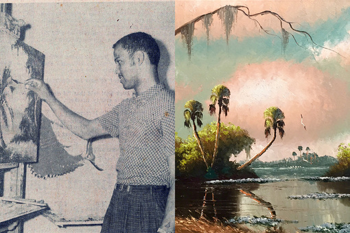 "How Florida's Black ""Highwaymen"" Painters Made a Living in the Jim Crow South"