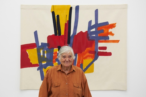 Painter Etel Adnan's Career Didn't Take off until Her Eighties—Now She's an Inspiration to Young Artists