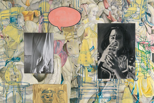 After 30 Years of Scrutiny, David Salle's Paintings Still Confound