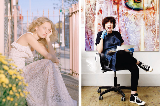 Petra Collins and Marilyn Minter Talk Feminism and Horror Flicks